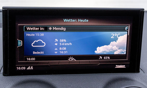 Audi Q2 40 TFSI quattro: Connectivity