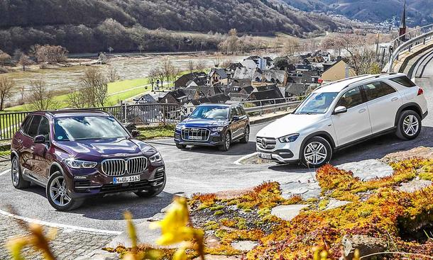 BMW X5/Audi Q7/Mercedes GLE