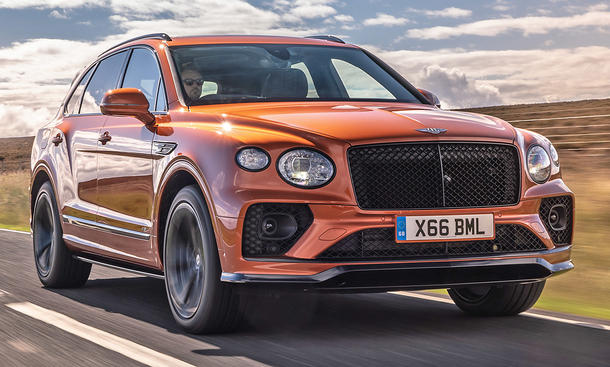 Bentley Bentayga Facelift (2020)