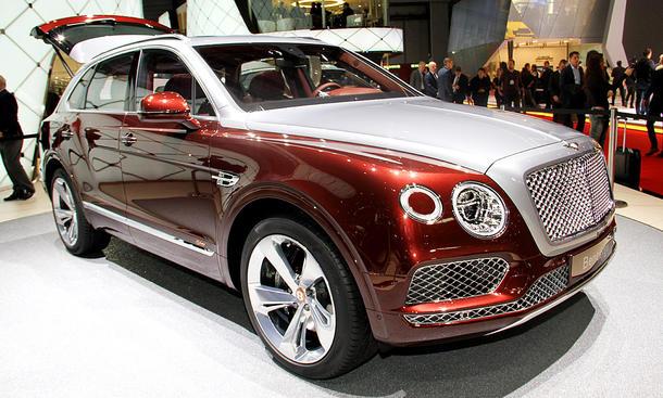 Bentley Bentayga Hybrid (2018)