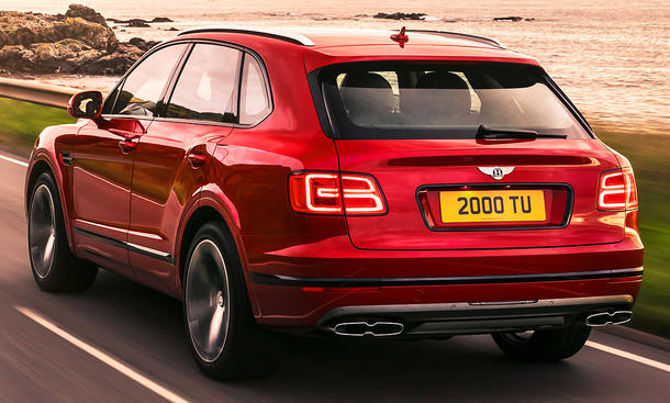 Bentley Bentayga V8 (2018)