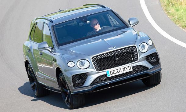Bentley Bentayga V8: Luxus-SUV des Jahres 2020