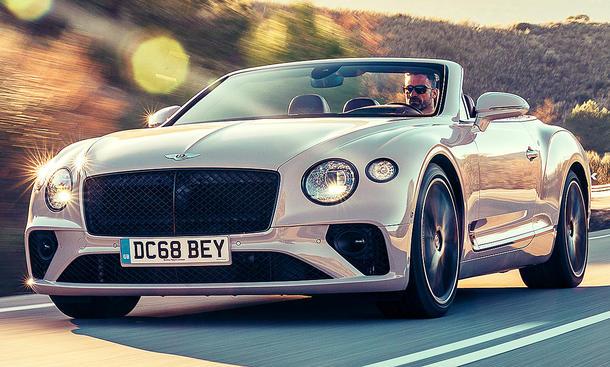 Bentley Continental GTC (2019)