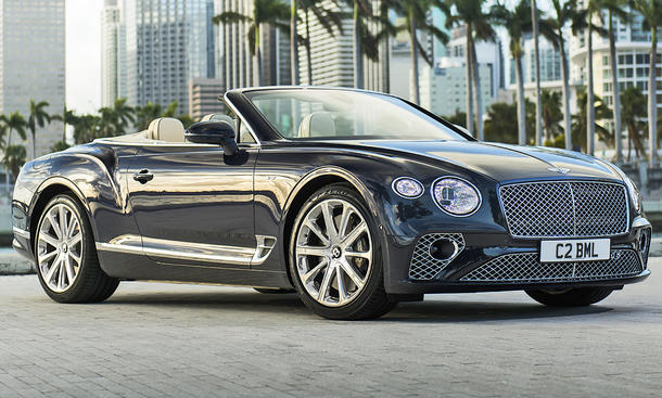 Bentley Continental GTC V8 (2019)