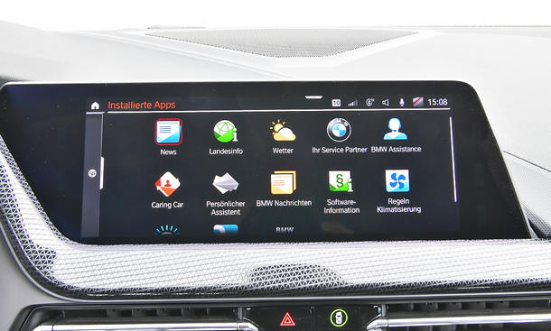 BMW 1er: Connectivity