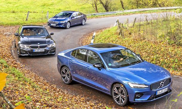 Opel Insignia 2.0/BMW 320i/Volvo S60 B4