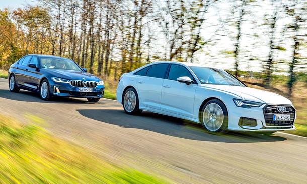 BMW 540i/Audi A6 55 TFSI