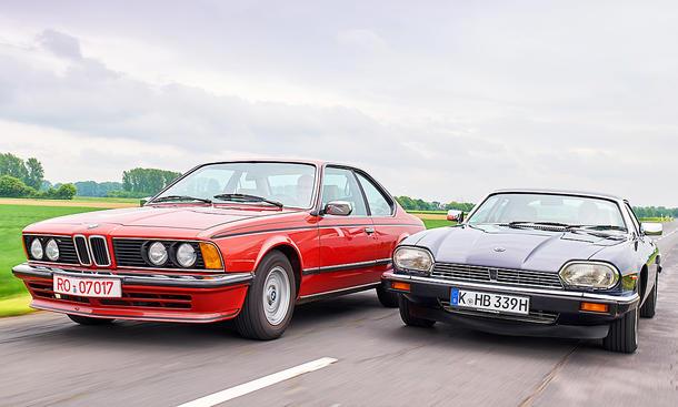 BMW 635/Jaguar XJ-S: Classic Cars