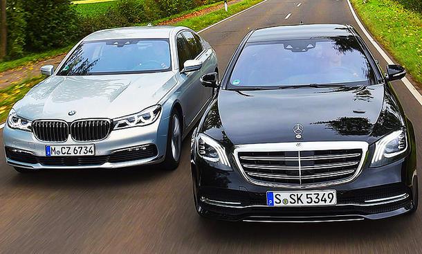 Golf Gti Clubsport S >> BMW 740d xDrive/Mercedes S 400 d 4Matic: Test | autozeitung.de