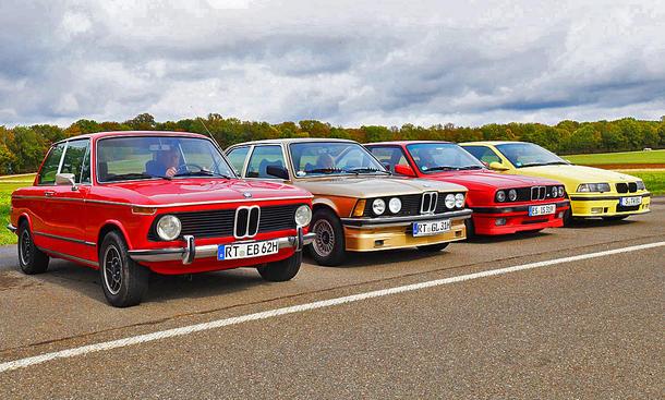 BMW 3er E21, E30, E36 und 02-Serie: Classic Cars