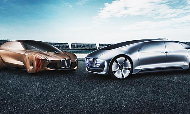 BMW & Mercedes: Brennstoffzelle & Autonomes Fahren