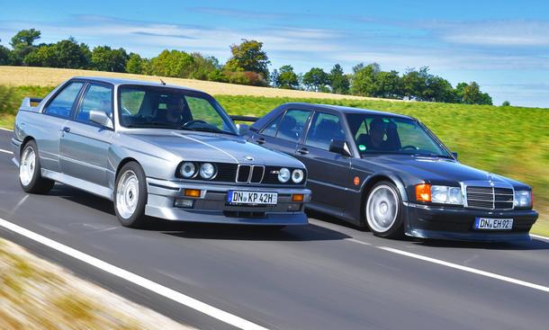 BMW M3 E30/Mercedes 190 Evo: Classic Cars