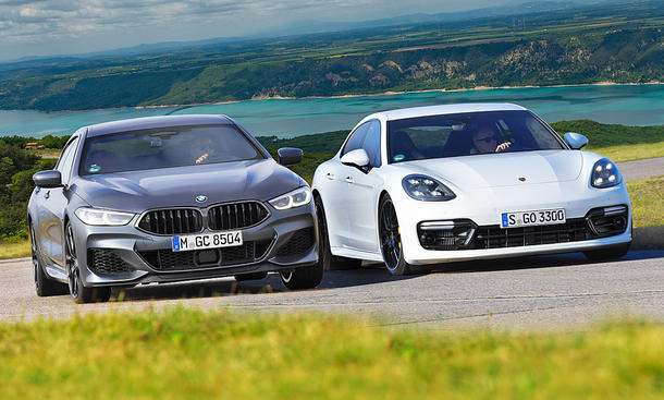 BMW M850i xDrive/Porsche Panamera Turbo
