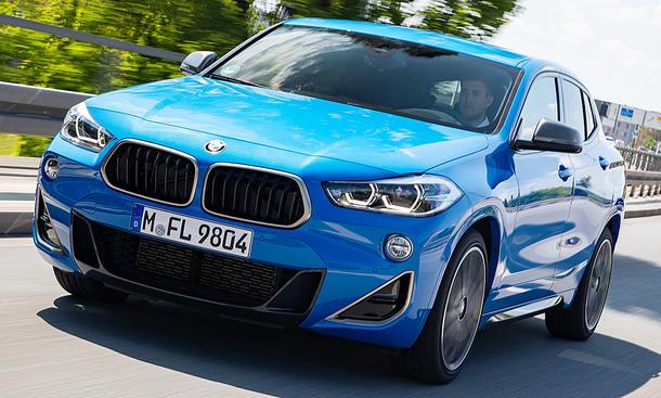 Neuer Bmw X2 M35i Xdrive 2019 Erste Testfahrt Autozeitung De