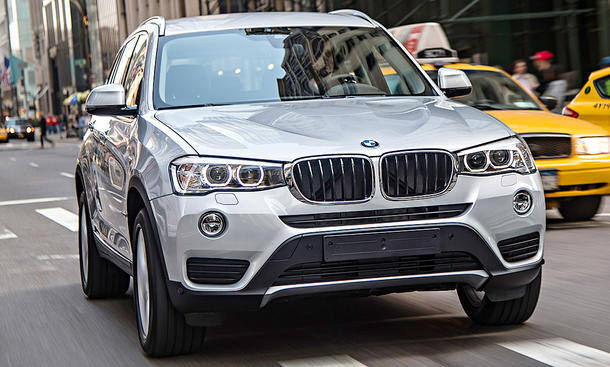 BMW X3 (F25) Facelift