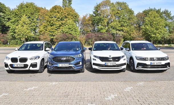BMW X3/Ford Edge/Skoda Kodiaq RS/VW Tiguan Allspace