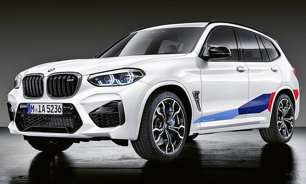 BMW X3 M mit M-Performance-Parts