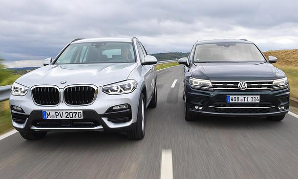 BMW X3/VW Tiguan: Test
