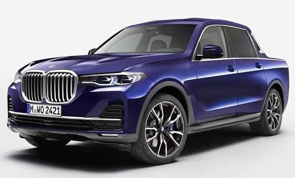 BMW X7 Pick-up: Azubi-Einzelstück