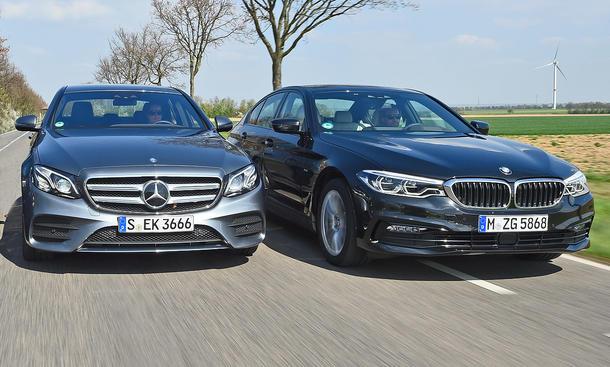 Mercedes E-Klasse/BMW 5er