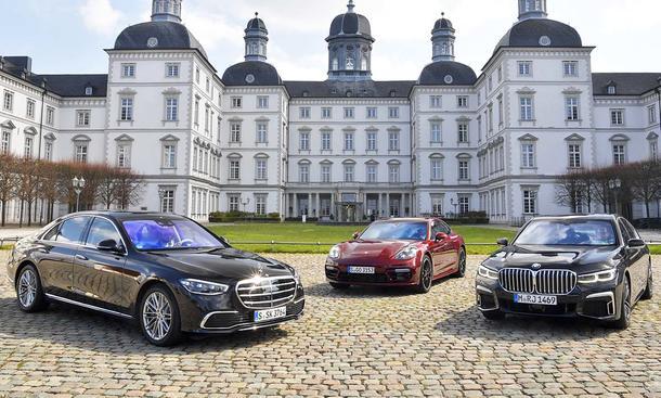 Mercedes S-Klasse/Porsche Panamera/BMW 7er