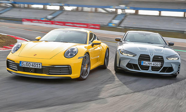 Porsche 911 Carrera S/BMW M4 Competition Coupé