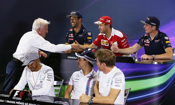 Formel-1-Rennleiter: Charlie Whiting gestorben