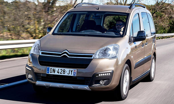 Citroën Berlingo Facelift (2015)
