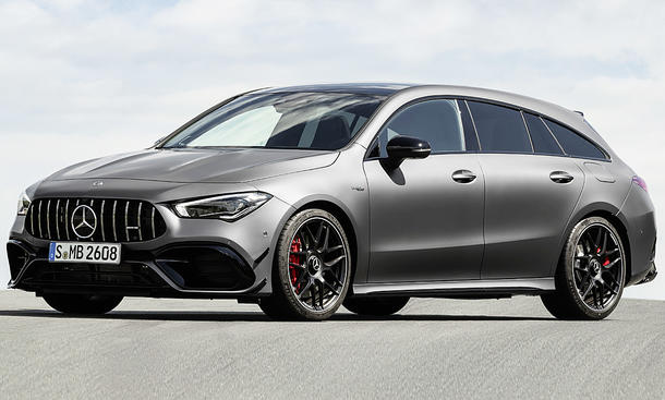 Mercedes-AMG CLA 45 Shooting Brake (2019)