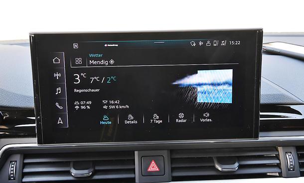 Audi A4 Avant: Connectivity