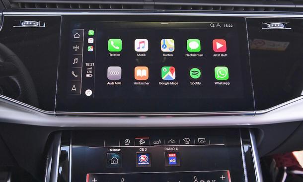 Audi Q7: Connectivity