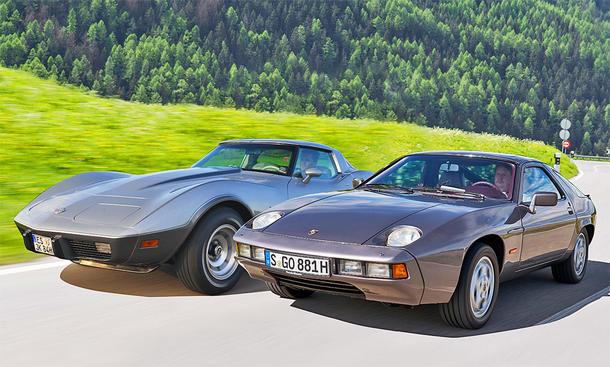Chevrolet Corvette C3/Porsche 928: Classic Cars
