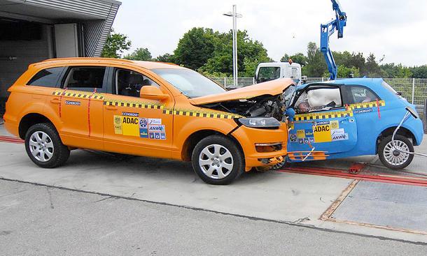 Euro-NCAP: Neuer Crashtest-Standard