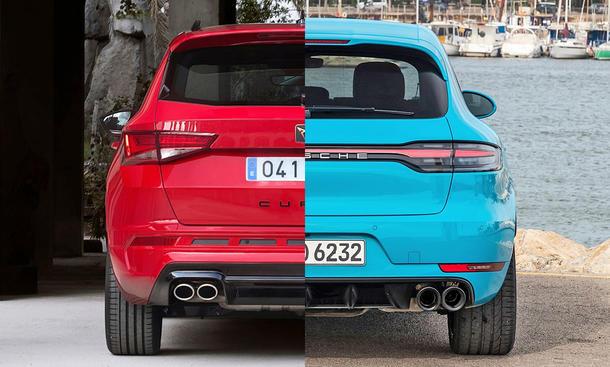 Cupra Ateca & Porsche Macan S im Vergleich