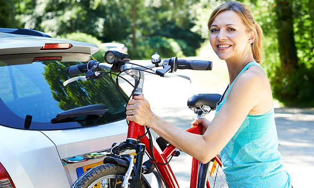 Fahrradträger Auto: Anhängerkupplung/Dach