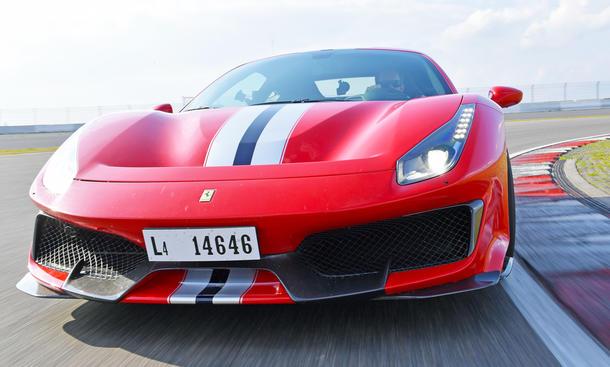 Ferrari 488 Pista: Tracktest