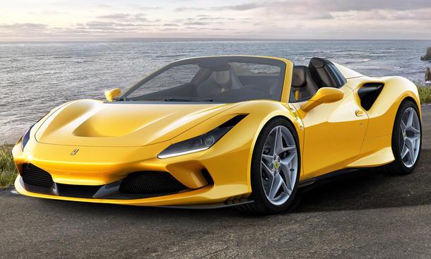 Ferrari F8 Spider 2019