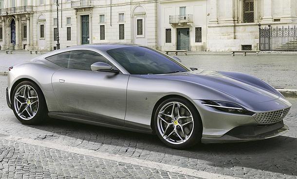 Ferrari präsentiert das V8-Coupé Roma
