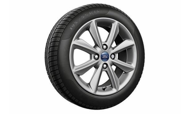 Räder für den neuen Ford Fiesta