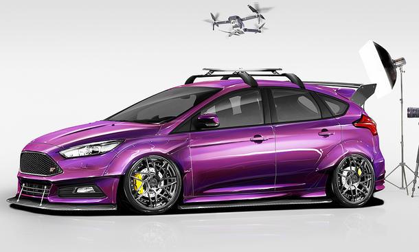 Ford auf der SEMA 2017 Neue Tuning Autos autozeitungde
