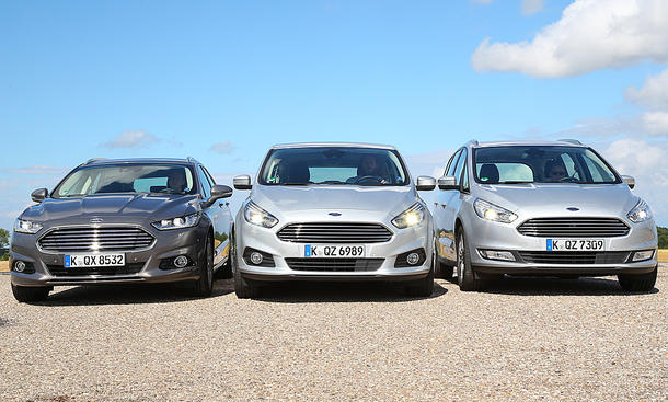 Ford Mondeo Turnier/Ford S-Max/Ford Galaxy