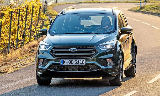Ford Kuga 2 0 Tdci 4x4 Test Uber 100 000 Km Autozeitung De