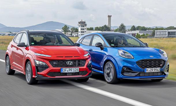 Hyundai Kona/Ford Puma ST