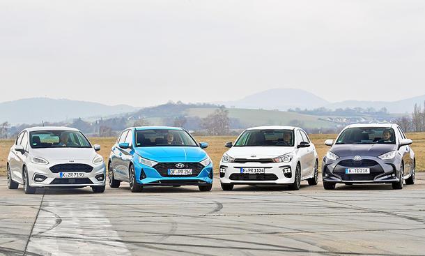 Ford Fiesta/Hyundai i20/Kia Rio/Toyota Yaris