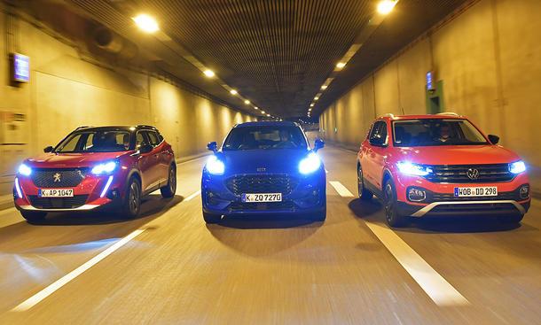 Peugeot 2008/Ford Puma/VW T-Cross