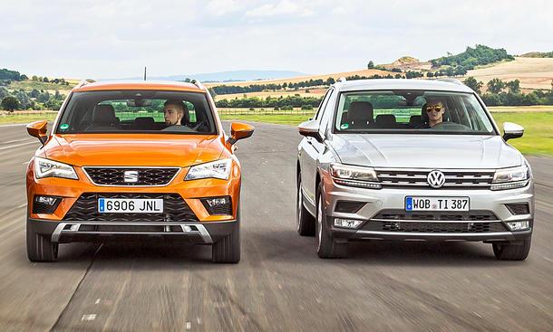 Seat Ateca/VW Tiguan: Gebrauchtwagen kaufen