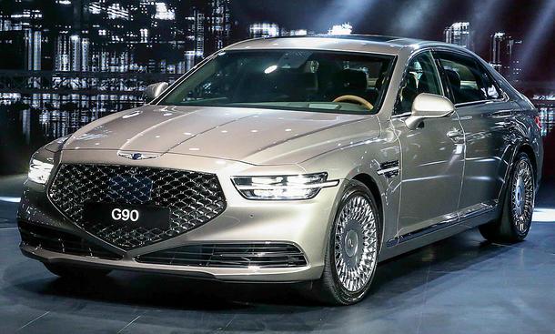 Genesis G90 Facelift (2019): Neue Fotos | autozeitung.de
