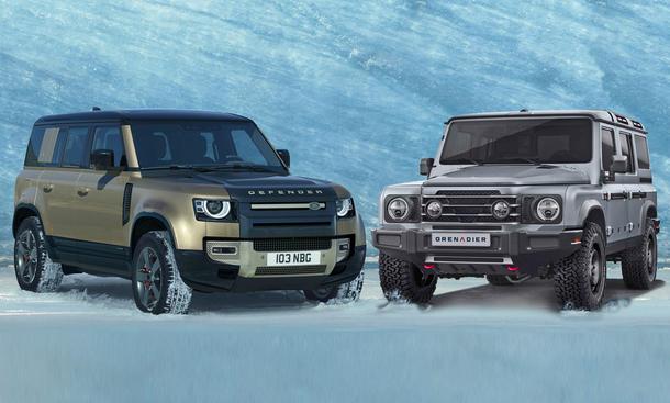 Land Rover Defender/Ineos Grenadier