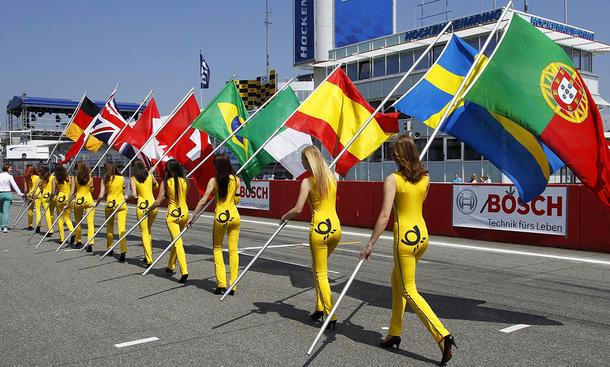 Grid Girls bei der Formel 1
