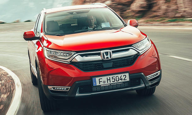 Honda CR-V 1.5 VTCEC Turbo: Test